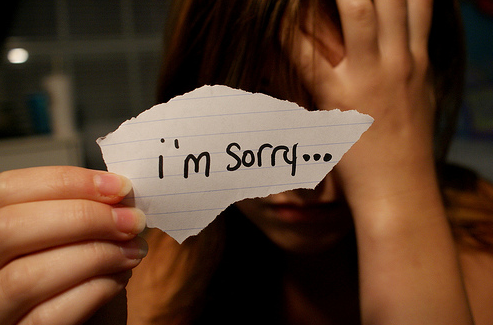 """""""Sorry Seems to be the Hardest Word"""" -- by Elton John & Bernie Taupin"""